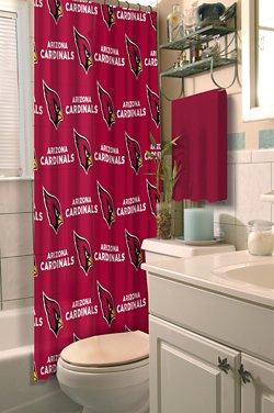 The Northwest Company Arizona Cardinals Shower Curtain