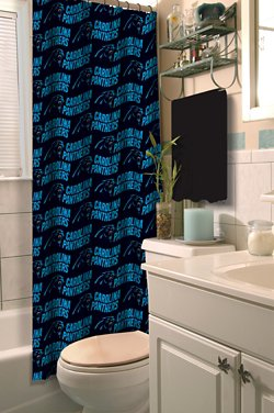 The Northwest Company Carolina Panthers Shower Curtain