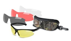 Mossy Oak Belzoni 4-Lens Shooting Glasses Kit