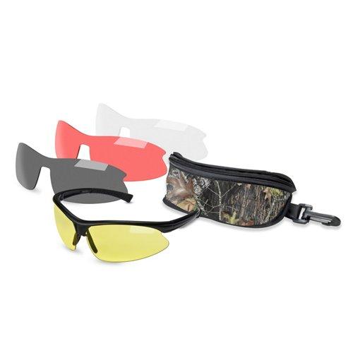 Mossy Oak Belzoni 4-Lens Shooting Glasses Kit