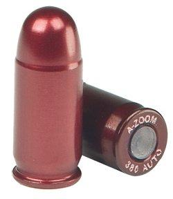 A-Zoom .380 ACP Aluminum Snap Caps 5-Pack
