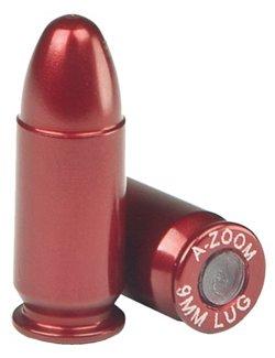 A-Zoom 9mm Aluminum Snap Caps 5-Pack