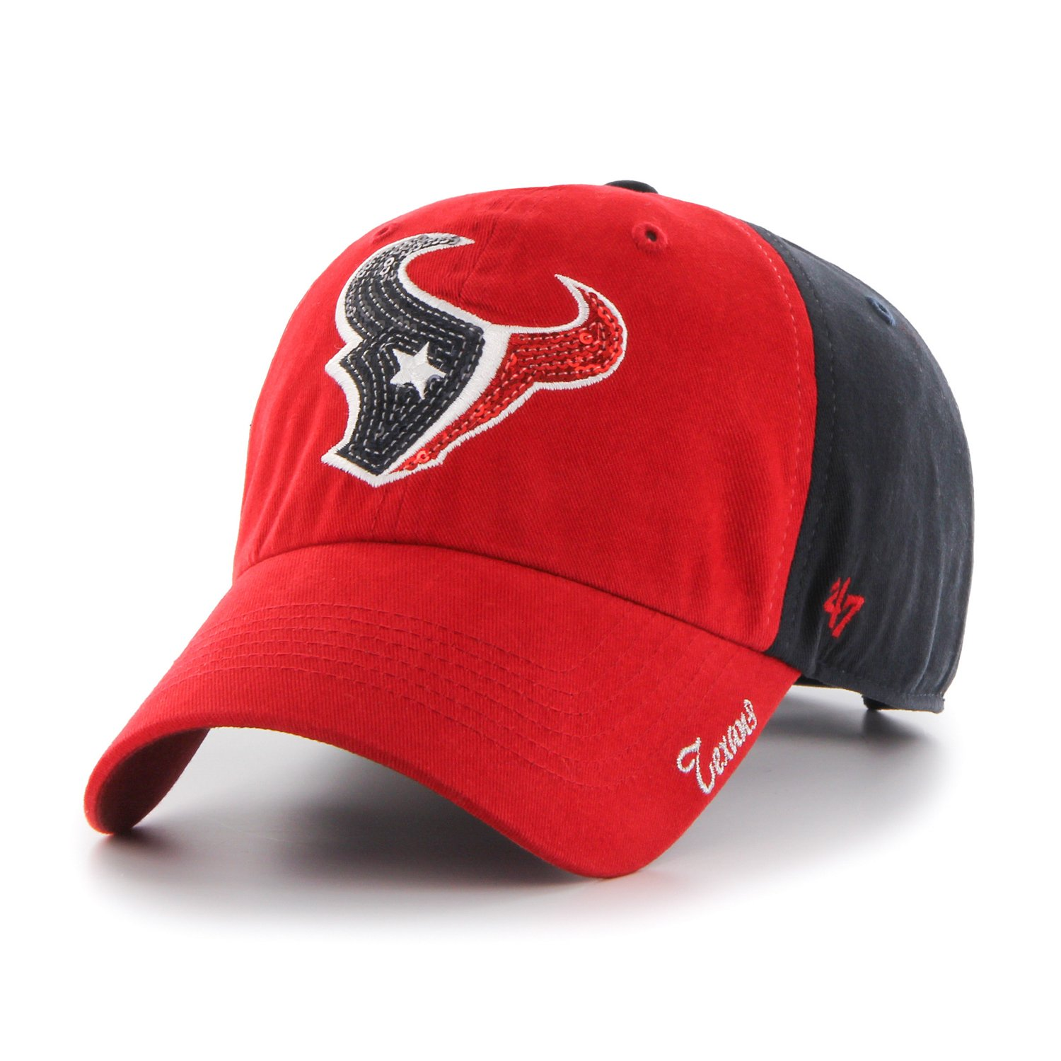 cheaper 26814 e235a germany official store houston texans red hat 7618b d544e 469fa 17379  new  zealand 47 womens houston texans sparkle 2 tone clean up cap academy 97599  0a6f2