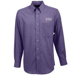 Antigua Men's Texas Christian University Associate Button-Down Shirt