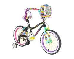 "Ozone 500® Girls' Hocus Pocus 18"" BMX Bicycle"