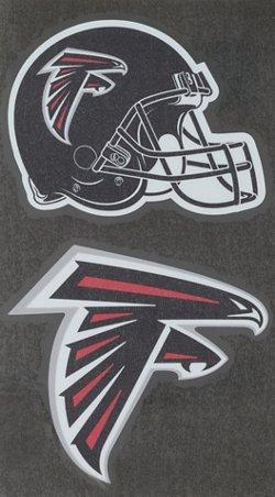 "Stockdale Atlanta Falcons Domed 2"" Trailer Hitch Cover"