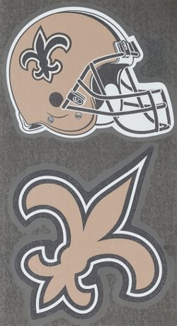 "Stockdale New Orleans Saints Domed 2"" Trailer Hitch Cover"