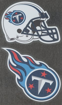 """Stockdale Tennessee Titans Domed 2"""" Trailer Hitch Cover"""