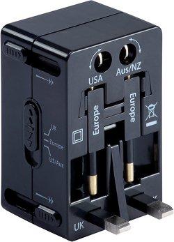 Lewis N. Clark Universal 4-in-1 Adapter Plug
