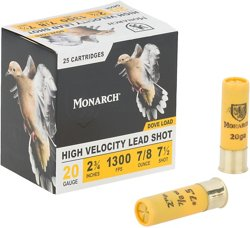Monarch® Light Dove 20 Gauge 7.5 Shotshells