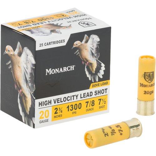Monarch® Light Dove 20 Gauge 7.5 Shotshells