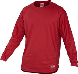 Men's Dugout Fleece Pullover Top