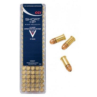 cci 22 27 grain short cphp rimfire ammunition academy