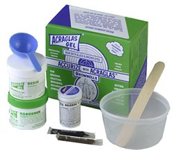 Brownell Acraglas 4 oz Gel Kit