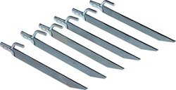 Magellan Outdoors Steel Tent Stakes 6-Pack