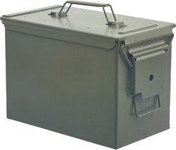 Game Winner® Fat .50 Caliber Steel Ammo Box