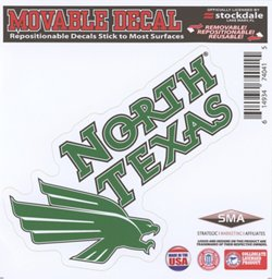 """Stockdale University of North Texas 6"""" x 6"""" Decal"""