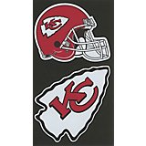 "Stockdale Kansas City Chiefs Domed 2"" Trailer Hitch Cover"
