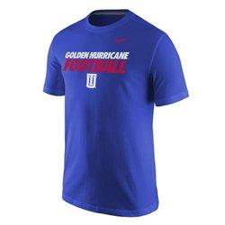 Nike™ Men's University of Tulsa Cotton Short Sleeve T-shirt