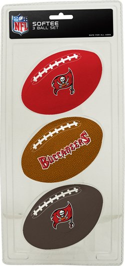 Rawlings Tampa Bay Buccaneers 3rd Down Softee 3-Ball Football Set