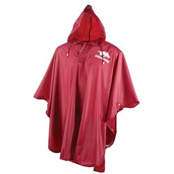 Adults' University of Arkansas Heavy-Duty Rain Poncho