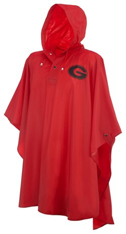 Storm Duds Men's University of Georgia Heavy-Duty Rain Poncho