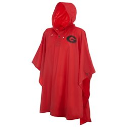 Men's University of Georgia Heavy-Duty Rain Poncho