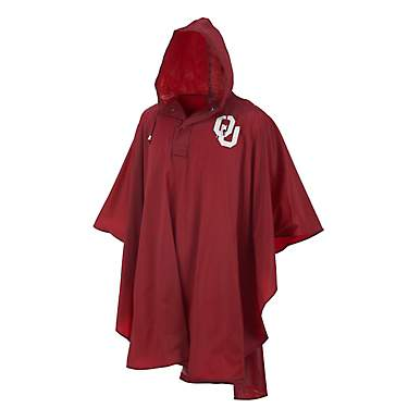 Storm Duds Adults' University of Oklahoma Slicker Heavy Duty PVC Poncho