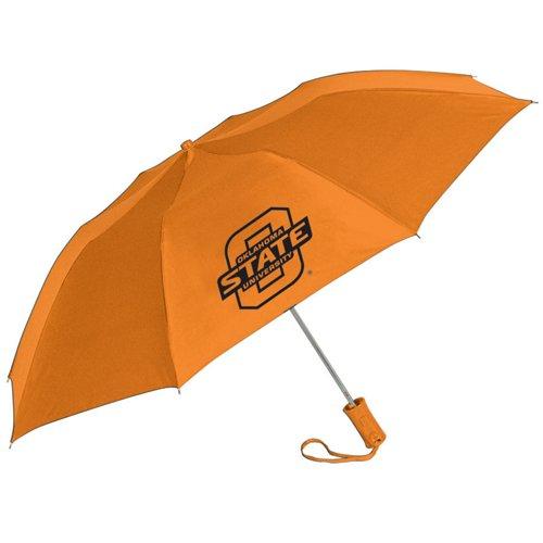 Storm Duds Oklahoma State University 42' Super Pocket Mini Folding Umbrella