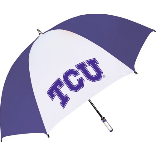 Storm Duds Adults' Texas Christian University The Birdie Sporty Golf Umbrella