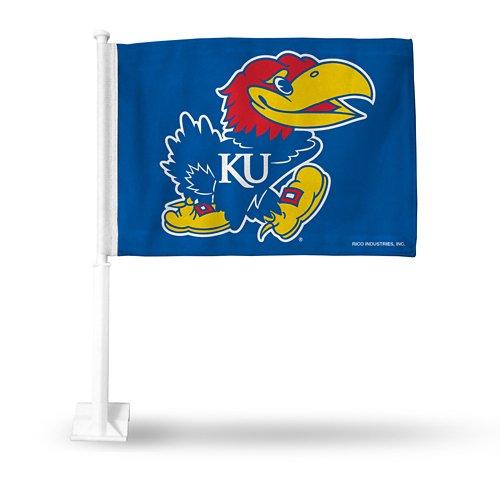 Rico University of Kansas Car Flag