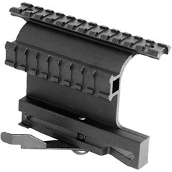 AK Double Rail Side Mount with QR Lever