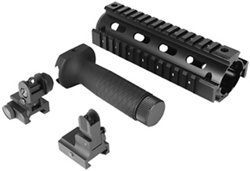 AR-15/M4 Railed Fore-End Grip and Sights Kit