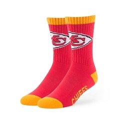 '47 Men's Kansas City Chiefs Bolt Sport Socks
