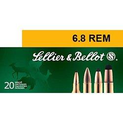 6.8mm Remington SPC 110-Grain PTS Centerfire Rifle Ammunition