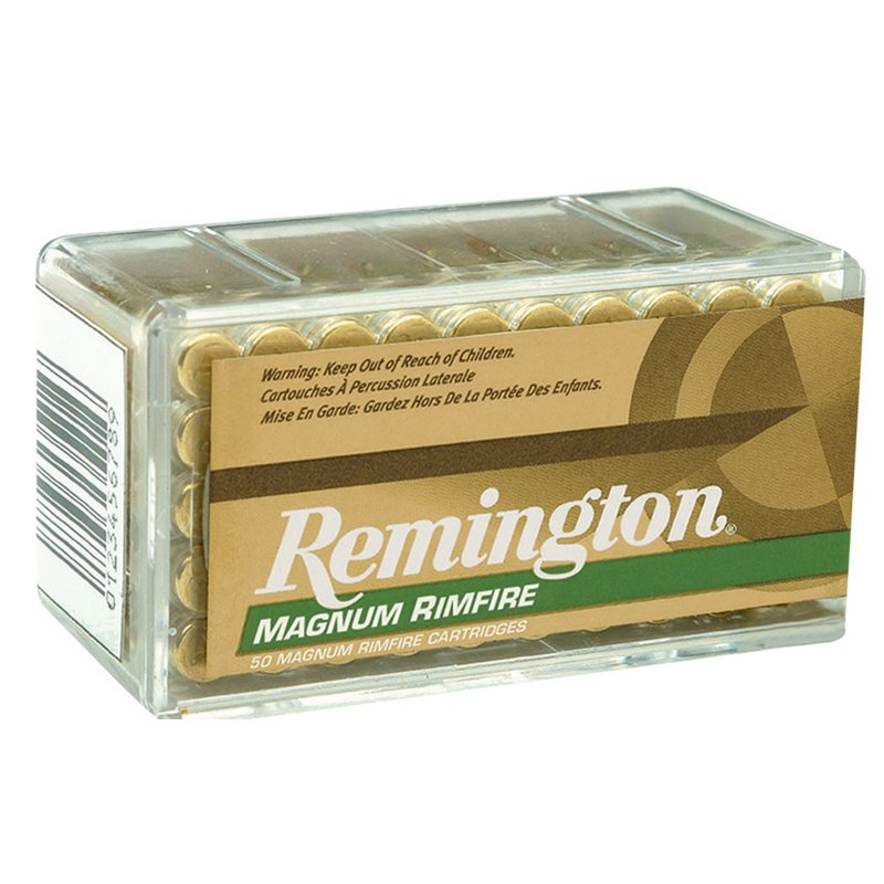 Remington .22 Win Magnum Rimfire Ammunition, 40 - Rimfire Shells at Academy Sports thumbnail