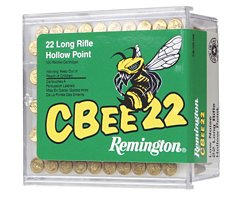 Remington CBee .22 Long Rifle 33-Grain Rimfire Ammunition