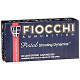 Fiocchi Pistol Shooting Dynamics 9mm 124-Grain Centerfire Handgun Ammunition