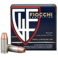Fiocchi Extrema XTP 9mm 124-Grain Jacketed Hollow Point Centerfire Handgun Ammunition