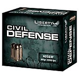 Liberty Ammunition Civil Defense .40 S&W 60-Grain Centerfire Handgun Ammunition