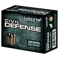 Liberty Ammunition Civil Defense .380 ACP 50-Grain Centerfire Handgun Ammunition