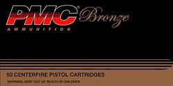 Bronze .45 ACP 230-Grain Full Metal Jacket Centerfire Handgun Ammunition