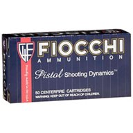 Fiocchi Cowboy Action .45 Colt 250-Grain Round Nose Flat Point Centerfire Pistol Ammunition