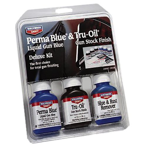 Birchwood Casey Deluxe Perma Blue Bluing/Stock Finish Kit