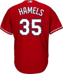 Majestic Men's Texas Rangers Cole Hamels #35 Jersey