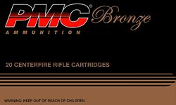 PMC Bronze .308 Win/7.62 NATO 147-Grain Centerfire Rifle Ammunition