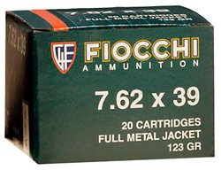 Rifle Shooting Dynamics 7.62 x 39 123-Grain Full Metal Jacket Centerfire Rifle Ammunition