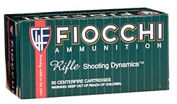 Fiocchi Rifle Shooting Dynamics .223 Remington/5.56 NATO 55-Grain FMJ Centerfire Rifle Ammunition