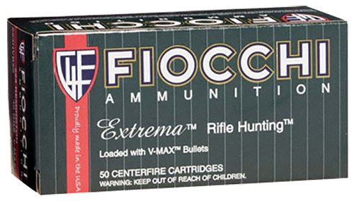 Fiocchi Extrema V-Max .223 Remington/5.56 NATO 50-Grain Centerfire Rifle Ammunition