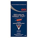 CCI Maxi-Mag TNT .22 Win Magnum 30-Grain Jacketed Hollow Point Rimfire Ammunition